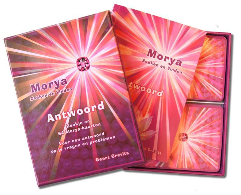 Antwoord boekje en 64 Morya-kaarten voor een antwoord op al je vragen en problemen, Morya, Paperback