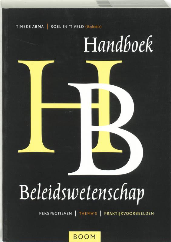 Handboek beleidswetenschap perspectieven, thema's en praktijkvoorbeelden, Paperback