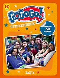 Gogogo stickerboek Paperback