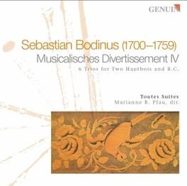 MUSICALISCHES DIVERTISSEM MARIANNE PFAU/TOUTES SUITES Audio CD, S. BODINUS, CD
