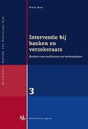 Interventie bij banken en verzekeraars rechten van crediteuren en wederpartijen, Rank, W.A.K., Paperback