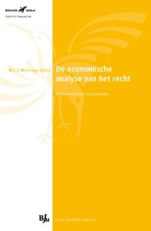De economische analyse van het recht rechtseconomische beschouwingen, Paperback