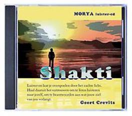Shakti Morya luister-cd, Geert Crevits, Luisterboek