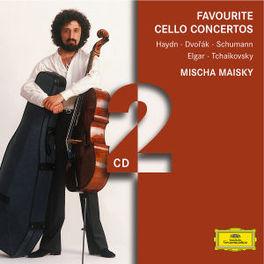 FAVOURITE CELLO CONCERTOS ORCHESTRE DE PARIS, WIENER PHIL., PHILHARMONIC ORCHESTR Audio CD, MISCHA MAISKY, CD