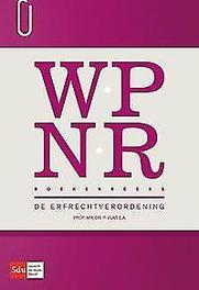 De erfrechtverordening P. Vlas, Paperback
