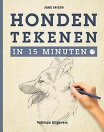 Honden tekenen in 15 minuten Spicer, Jake, Paperback
