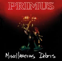 MISCELLANEOUS DEBRIS *1992 COVER E.P. W. LES CLAYPOOL ON HIS 'RAINBOW BASS'* PRIMUS, CD