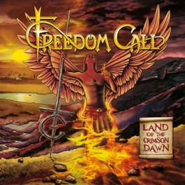 LAND OF THE CRIMSON DAWN FREEDOM CALL, CD