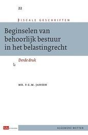 Beginselen van behoorlijk bestuur in het belastingrecht. Fiscale geschriften, Jansen, P.G.M., Paperback