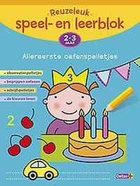 Reuzeleuk speel- en leerblok: 2-3 jaar Observatiespelletjes - begrippen oefenen - schrijfspelletjes - de kleuren leren, Annemie Bosmans, Paperback