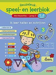 Reuzeleuk speel- en leerblok Ik leer tellen en schrijven; 3de kleuterklas; groep 2; 5-6 jaar