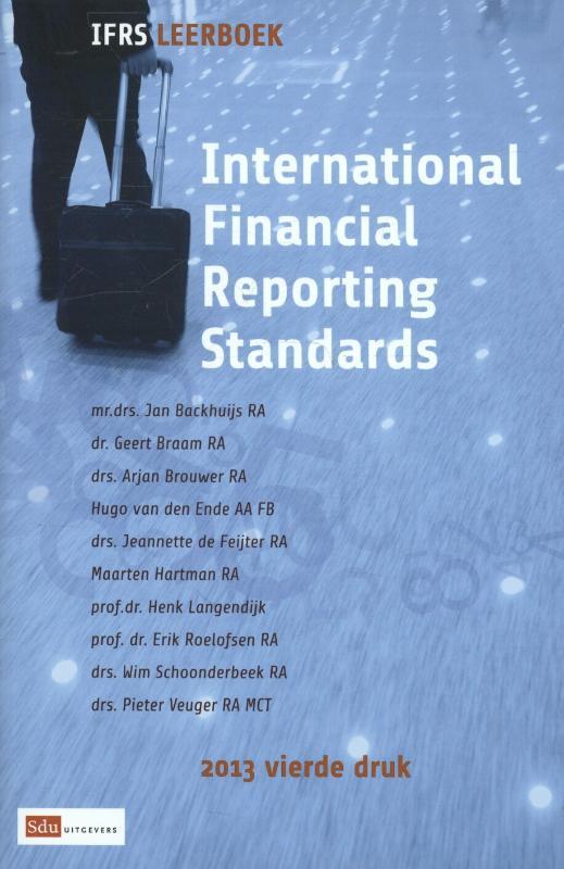 International financial reporting standards: 2013: Leerboek Backhuijs, Jan, Paperback