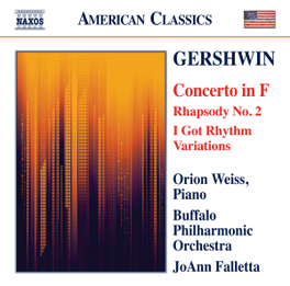 CONCERTO IN F BUFFALO P.O./JOANN FALLETTA G. GERSHWIN, CD
