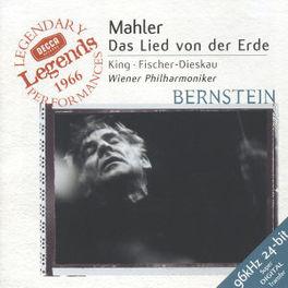DAS LIED VON DER ERDE W/KING, WIENER PHILHARMONIKER, BERNSTEIN Audio CD, G. MAHLER, CD