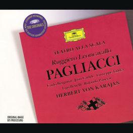 PAGLIACCI -BERGONZI/CARLYLE/HERBERT VON KARAJAN Audio CD, R. LEONCAVALLO, CD