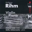 VIOLIN & PIANO ANDREAS SEIDEL/STEFFEN SCHLEIERMACHER