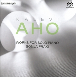 WORKS FOR SOLO PIANO SONJA FRANKI K. AHO, CD