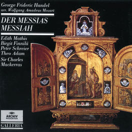 DER MESSIAS SYMPH.ORCH.OOSTER.RUNDF./MACKERRAS Audio CD, G.F. HANDEL, CD