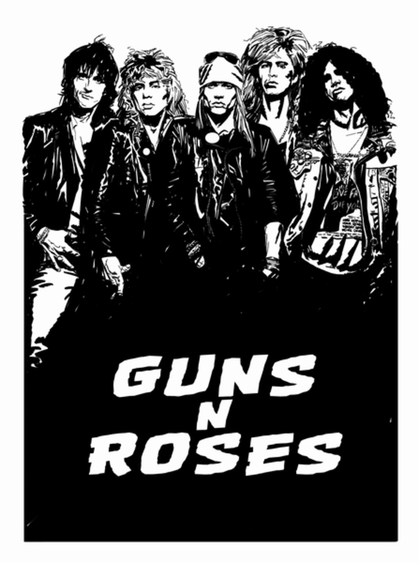Guns 'N Roses Reckless Life, McCarthy, Jim, Paperback