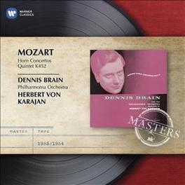 HORN CONCERTOS NO.1-4 DENNIS BRAIN W.A. MOZART, CD