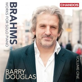 WORKS FOR SOLO PIANO VOL. BARRY DOUGLAS J. BRAHMS, CD