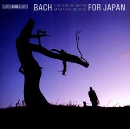 BACH FOR JAPAN:ARIAS & MO BACH COLLEGIUM JAPAN/M.SUZUKI J.S. BACH, CD