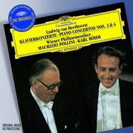 PIANO CONCERTO NO.3&4 WIENER PHILHARMONIKER/POLLINI Audio CD, L. VAN BEETHOVEN, CD