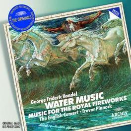 WATER MUSIC/FIREWORKS MUS ENGLISH CONCERT/TREVOR PINNOCK Audio CD, G.F. HANDEL, CD