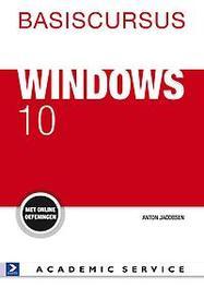 Basiscursus Windows 10 met online oefeningen, Jacobsen, Anton, Paperback