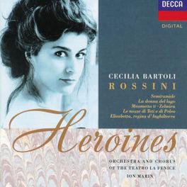 HEROINES BARTOLI LA FENICE ORCH. MARIN Audio CD, G. ROSSINI, CD