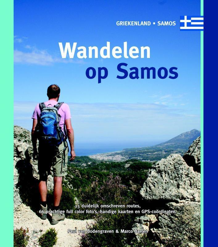 Wandelen op Samos Griekenland Samos, Van Bodengraven, Paul, Paperback