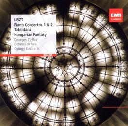 PIANO CONCERTOS 1 & 2 ORCHESTRE DE PARIS/GYORGY CZIFFRA F. LISZT, CD