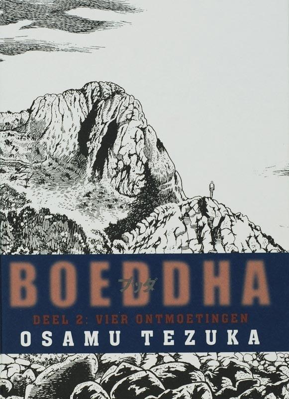 Vier ontmoetingen Boeddha, Tezuka, Osamu, Hardcover