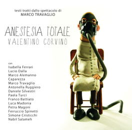 ANESTESIA TOTALE PROJECT ALBUM BY ITALIAN COMPOSER WITH A JOURNALIST V/A, CD