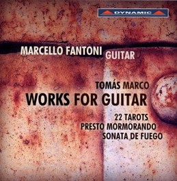 WORKS FOR GUITAR FANTONI T. MARCO, CD