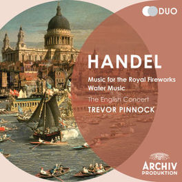 MUSIC FOR THE ROYAL.. THE ENGLISH CONCERT/TREVOR PINNOCK G.F. HANDEL, CD