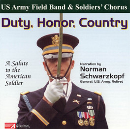 DUTY, HONOR, COUNTRY U.S. ARMY FIELD BAND, CD