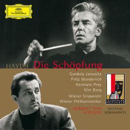 DIE SCHOPFUNG SALZBURGER FESTSPIELE 1965 Audio CD, J. HAYDN, CD