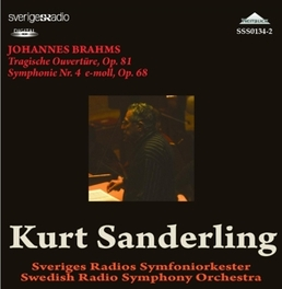 SYMPHONY NO.4 SWEDISH R.S.O./KURT SANDERLING J. BRAHMS, CD