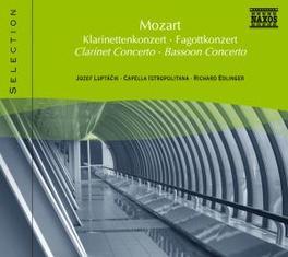 CLARINET CONCERTO LUPTACIK W.A. MOZART, CD