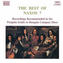 BEST OF NAXOS 7 'MUSIKALISCHES MENU' V/A, CD