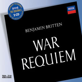 WAR REQUIEM LONDON S.O./BRITTEN Audio CD, B. BRITTEN, CD