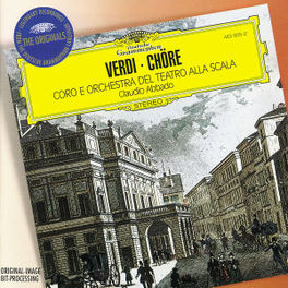 CHORUSES SCALA/CLAUDIO ABBADO Audio CD, G. VERDI, CD