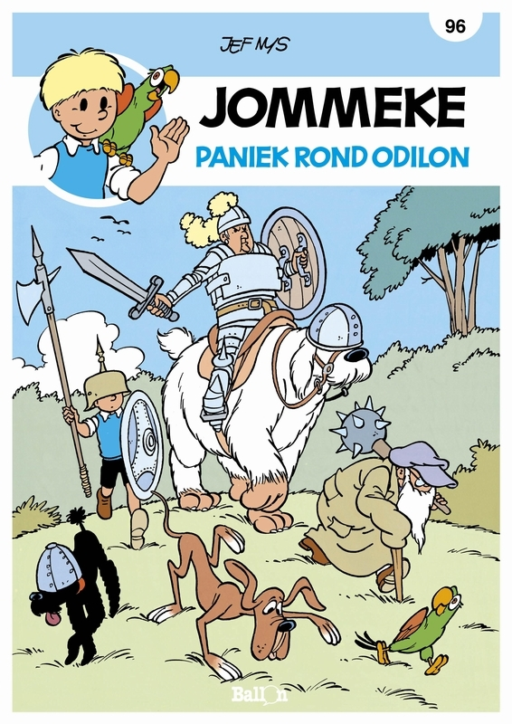 JOMMEKE 096. PANIEK ROND ODILON JOMMEKE, Nys, Jef, Paperback
