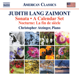 SONATA/A CALENDER SET CHRISTOPHER ATZINGER ZAIMONT, CD