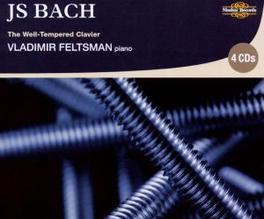 BACH: WELL-TEMPERED.. .. CLAVIER Audio CD, VLADIMIR FELTSMAN, CD