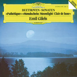 PIANO SONATAS/PATHETIQUE MOONLIGHT W/EMIL GILELS Audio CD, L. VAN BEETHOVEN, CD