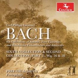 SIXTH COLLECTION & SECOND PREETHI DE SILVA C.P.E. BACH, CD