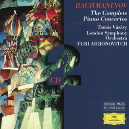 COMPLETE PIANOCONCERTOS W/TAMAS VASARY-PIANO, LONDON S.O., YURI AHRONOVITCH Audio CD, S. RACHMANINOV, CD