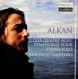 SONATA LES QUATRE AGES VINCENZO MALTEMPO C.V. ALKAN, CD